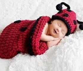 Cute Beetle Baby Sleeping Bag
