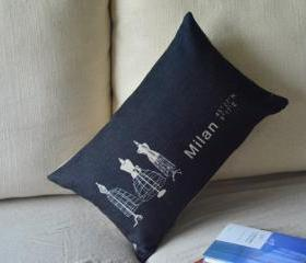 Milan Print Decorative Pillow