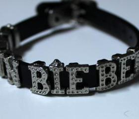 Justin Bieber Antique Bracelet Black Wristband
