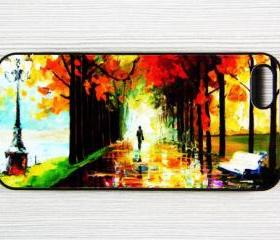 Landscape Painting Style iPhone 5 Case,Rubber Case OR Hard Plastic Case