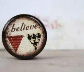 Believe Pill Box - Stocking Stuffer