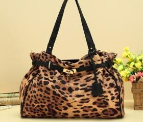 Leopard Print Handbag