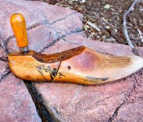 Vintage Wooden Shoe Last