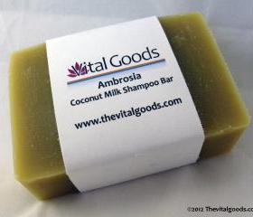 Ambrosia Coconut Milk Dreadlocks Shampoo Bar 4oz