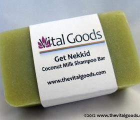 Get Nekkid Coconut Milk Dreadlock Shampoo Bar 4oz