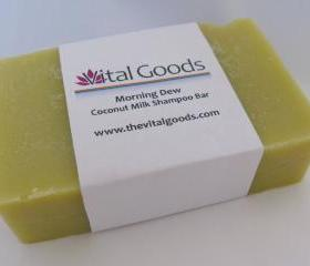 Morning dew Coconut Milk Dreadlocks Shampoo Bar 4oz