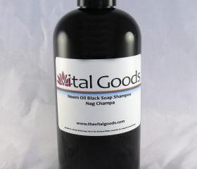 Dreadlock shampoo Neem Nag Champa Black Soap Shampoo 12oz