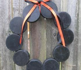 Hockey Love Wreath without Letter