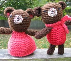 Valentine Couple Bears