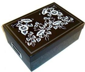 Black Memory/ Photo/ Keepsake Box