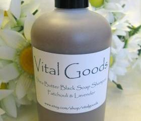 Dreadlock shampoo Patchouli Lavender shea butter black soap shampoo 12oz