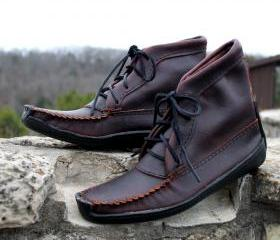 Mens 8' Boot with Bull Hide Sole