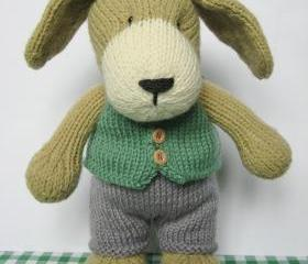 Puppy knitting pattern