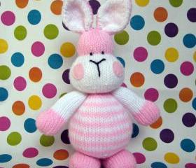 Marshmallow Bunny Rabbit toy knitting pattern