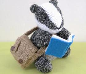 Brompton Badger toy knitting patterns