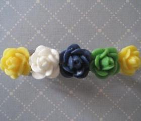 Sweet Flowers Hair Barrette
