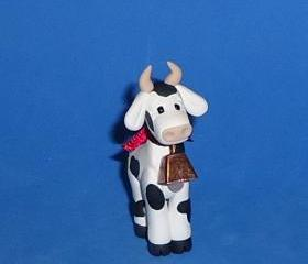Polymer Clay Holstein Cow