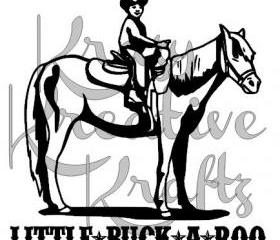 Lil buck a roo vinyl wall decal