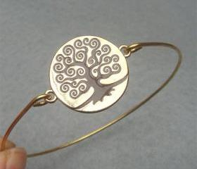Tree Bangle Bracelet Style 6