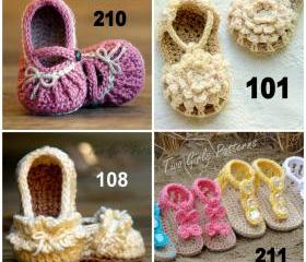 Crochet Patterns Any 3 patterns for 14.00 from our store