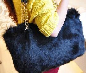 Fashion Vivi Handbag&Plush Bag