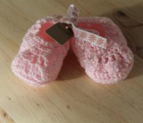 Baby girl booties