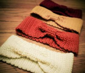 Crochet Headband Earwarmer