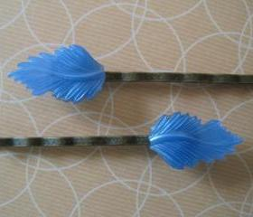  Pretty Leaf Hair Bobby Pins