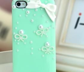 Bow Iphone 4 case,Bowknot Iphone Case