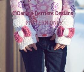 PDF Fingerless Glove PATTERN ONLY for Toddler-Adult