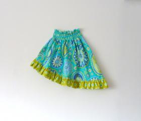 Ahona Asymmetrical Skirt PDF Pattern sizes 0-3 months to 14 years!