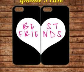 iphone 5 case,iphone 5 hard case,iphone 5 cover,iphone 5 hard cover---BEST FRIENDS,in plastic