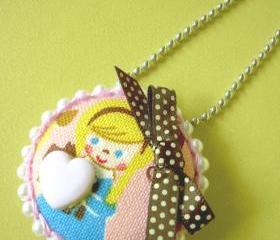 Sweet Dorothy - ♥ Pendant / Necklace / Brooch ♥