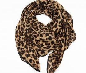  Leopard Infinity Scarf&Fashion Scarf
