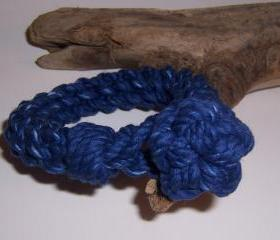 Royal Blue Knot Bracelet