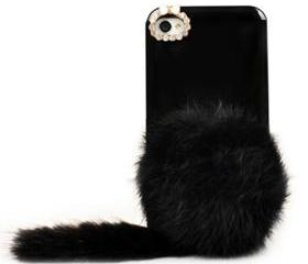 cute fashion Plush shell case for iphone 4/4s