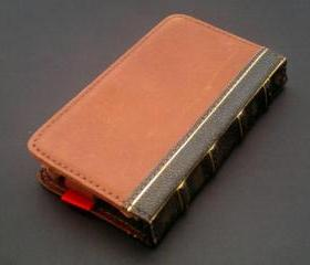 Leather Bible Book Wallet Case for Samsung Galaxy S2