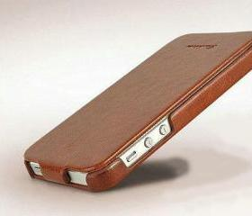 Leather Flip Slim Case for iPhone 5