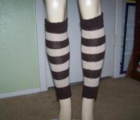 Hand knitted leg warmers (FREE SHIPPING)