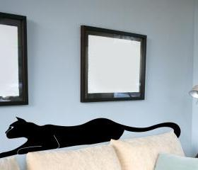 Black Panther Vinyl Wall Decal 18'x72'