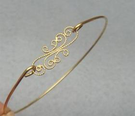 Flower Bangle Bracelet Style 20