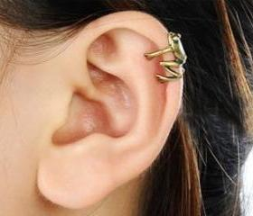 Hot Sell Vintage Little Frog Ear Cuff