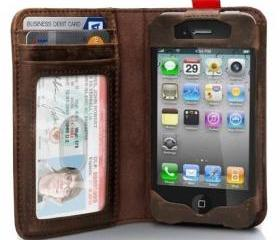 Read BookBook Leather Case for iPhone 5