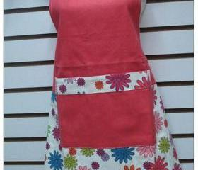 Retro Flower Apron 