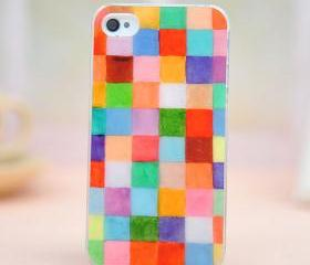 [grdx00294]colorful color box case for iphone 4/4s