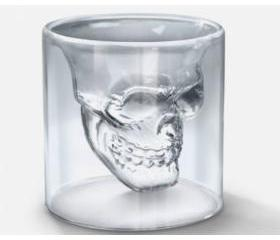 [grdx01008]Novelty Crystal Skull Shot Glass Cup