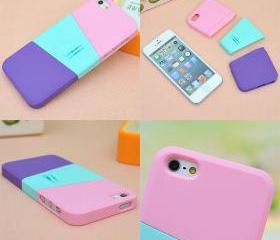 [grdx00313]Three color mix case for iphone 4/4s