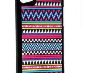 iPod Touch 5th Generation Colorful Native American Tribal Aztec Design Cover Case