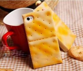 cute high artificial biscuit/cookies case for iphone 4/4s