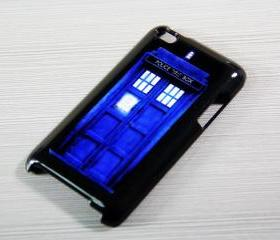 Tradis Doctor Who Police Box iPod Touch 4 Hard Cover Case
